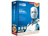 ESET ファミリー セキュリティ 3年版 10万本限定 製品画像
