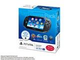 PlayStation Vita (�v���C�X�e�[�V���� ���B�[�^) 3G/Wi-Fi���f�� Play�IGame Pack PCHJ-10012 [�N���X�^���E�u���b�N] ���i�摜