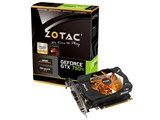 ZOTAC GeForce GTX 750 Ti 2GB ZTGTX750TI-2GD5R01/ZT-70601-10M [PCIExp 2GB] 製品画像