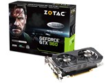 ZOTAC GeForce GTX 960 METAL GEAR SOLID V ZTGTX96-2GD5MGS01/ZT-90306-10J [PCIExp 2GB] 製品画像