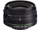 HD PENTAX-DA 18-50mmF4-5.6 DC WR RE 製品画像