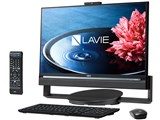 LAVIE Desk All-in-one DA770/BAB PC-DA770BAB [ファインブラック] 製品画像