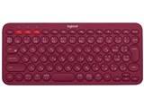 ロジクール K380 Multi-Device Bluetooth Keyboard K380RD [レッド]