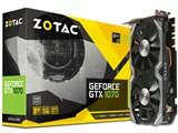 ZOTAC GeForce GTX 1070 Mini 8GB ZT-P10700K-10M [PCIExp 8GB] 製品画像