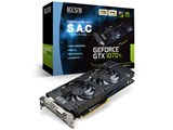 ELSA GeForce GTX 1070 Ti 8GB S.A.C GD1070-8GERTS [PCIExp 8GB]