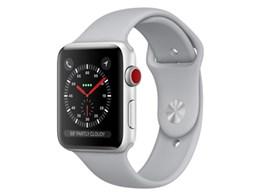Apple Watch Series 3 GPS+Cellularモデル 42mm スポーツバンド