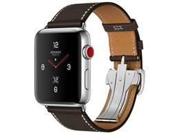 Apple Watch Hermes Series 3 GPS+Cellularモデル 42mm シンプルトゥールディプロイアントバックル