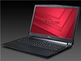 NEXTGEAR-NOTE i5320GA1-SH2-KK 価格.com限定 Core i7/16GBメモリ/256GB SSD+1TB HDD/GTX1050/15.6型フルHD液晶搭載モデル