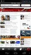 『スクリーンショット3』 Opera Mini モバイル Web ブラウザのアプリ画像