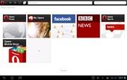 『スクリーンショット4』 Opera Mini モバイル Web ブラウザのアプリ画像