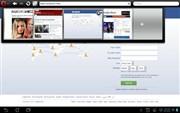 『スクリーンショット5』 Opera Mini モバイル Web ブラウザのアプリ画像