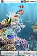 『スクリーンショット1』 aniPet海洋水族館ライブ壁紙(無料版)のアプリ画像