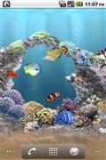 『スクリーンショット4』 aniPet海洋水族館ライブ壁紙(無料版)のアプリ画像