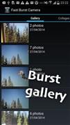 『スクリーンショット4』 Fast Burst Camera liteのアプリ画像