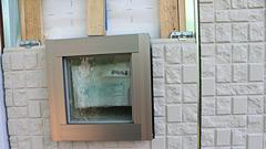 既存モルタルの外壁をサイディングへ張り替え