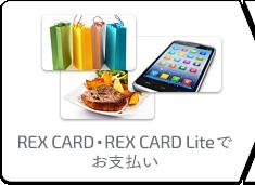 REX CARD�EREX CARD Lite�ł��x����