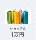 ショップA 1万円