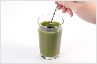 カルシウムもとれる初摘み若葉青汁 株式会社健康家族