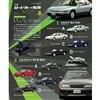 1/64スケール「日産ロードカーの軌跡」全8種