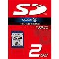 [MF-FSD02GC6]SDスピードクラス「Class6」に対応したSDカード(2GB)