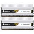 [TWIN3X4096-1600C7DHXIN] XMP対応/DHX搭載PC3-12800のDDR3メモリ(DDR3-1600MHz/2GB×2/レイテンシ:7-7-7-20)。市場想定価格は108,800円前後