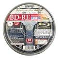 [ZBRE25-2X10PW] プリンタブルレーベルを採用した2倍速対応BD-REメディア(10枚入り)