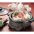 [味わい亭 EP-D716] 焼肉プレート/取っ手付土鍋/温度調節機能を備えた電気グリルなべ。価格は10,500円(税込)
