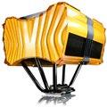 [AXE SQUARE] 120mm大型静音ファン/5本の純銅製ヒートパイプ/アルミ製フィンを備えた静音CPUクーラー