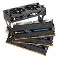 [TR3X6G1866C9DF] デスクトップPC用DDR3-1866MHz(PC3-15000)メモリーと冷却用AirFlowファンのセットモデル(2GBX3)。市場想定価格は52,000円前後