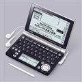 [エクスワード XD-GF10000] 「ランダムハウス英和大辞典」や「広辞苑」などの本格的な辞典を収録した電子辞書(100コンテンツ)。価格はオープン