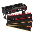 [TR3X6G2000C8GTF] デスクトップPC用DDR3-2000MHz(PC3-16000)メモリーと冷却用AirFlowファンのセットモデル(2GBX3)。市場想定価格は46,000円前後