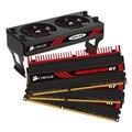 [TR3X6G1866C7GTF] デスクトップPC用DDR3-1866MHz(PC3-15000)メモリーと冷却用AirFlowファンのセットモデル(2GBX3)。市場想定価格は41,300円前後