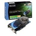[ELSA GLADIAC 796 GT SS 512MB] GeForce 9600GTを搭載したPCI Express2.0 x16バス用ビデオカード(GDDR3-SDRAM 512MB/オリジナル外排気型2スロット静音ファン)。価格はオープン