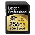 プロフェッショナル600倍速SDXC UHS-I 256GBカード