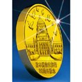 日本国憲法施行70周年記念 純金製直径100ミリ記念メダル