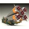1/150プラスチックモデル ソユーズロケット+搬送列車