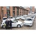 VWグループがドイツ・ハンブルク市にe-ゴルフを50台を引き渡し