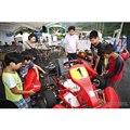 親子電気レーシングカート組み立て体験