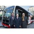 メルセデスベンツの新世代EV大型バス、eシターロ