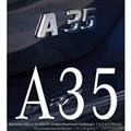 メルセデスAMG A35 セダンのティザーイメージ