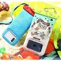 各種スマートフォン対応 ディズニー/ピクサーキャラクター DIVAID フローティング 防水ケース(蓄光)
