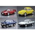 AOSHIMA、「ニッサン GT-R」や「トヨタ AE86 トレノ」など7月再生産モデル
