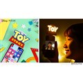 「ディズニー/ピクサーキャラクター/ UNIVERSAL CLIP LIGHT(トイ・ストーリー/ロゴ)」
