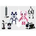 東京オリンピック・パラリンピックに投入される予定の、トヨタの大会サポート用ロボット群。