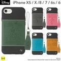 iPhone XS/X/8/7/6s/6専用 ディズニーキャラクター/Zarf ソフトケース