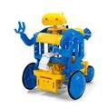 チェーンプログラムロボット工作セット(ブルー/イエロー)