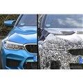 BMW M5セダン 従来型(左)と改良新型プロトタイプ(右)のフロントマスク。