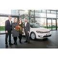 フォルクスワーゲンブランドの25万台目の電動パワートレイン車となったe-ゴルフ