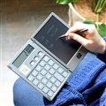電卓付き 電子メモパッド BUREW K-mo book 3R-CNB01