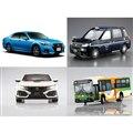 「1/24 トヨタ GRS214/AWS210 クラウンアスリートG '15」「1/24 トヨタ NTP10 JPNタクシー '17 チェッカーキャブ仕様」など